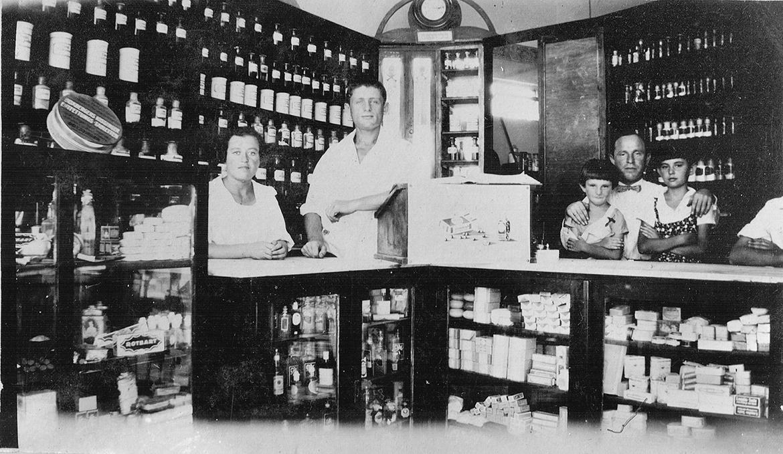 בית מרקחת בלפוריה משנת 1928