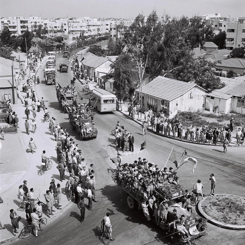 רחוב דיזנגוף בשנת 1932