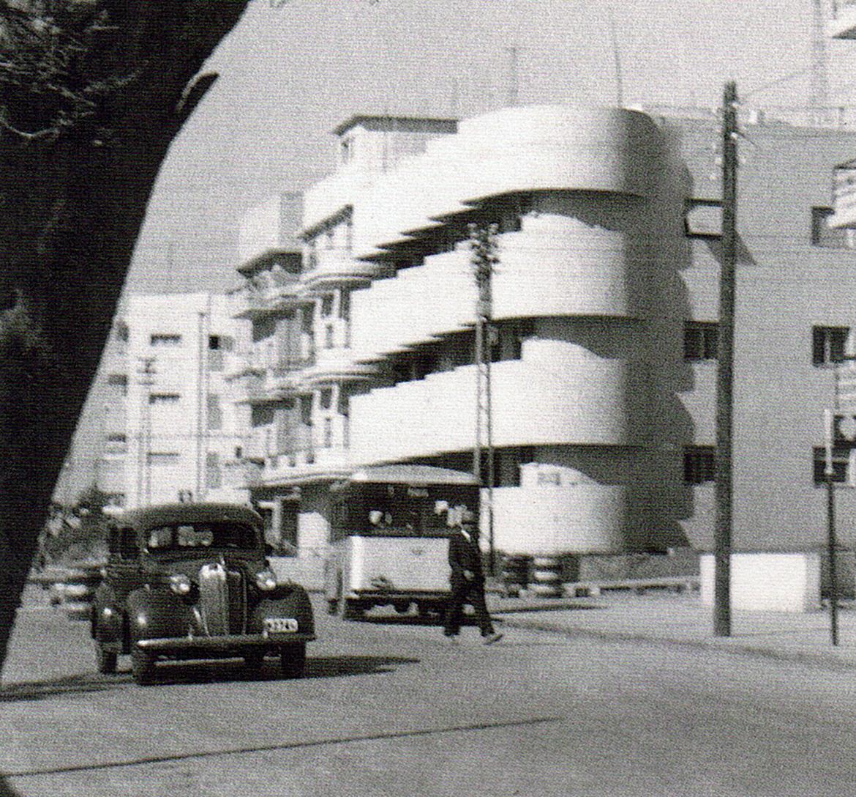 בניין שור טבצ׳ניק בשנת 1932