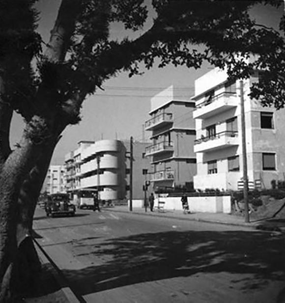 רחוב המלך ג׳ורג׳ בשנת 1932